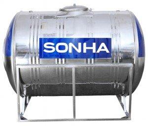 Bồn inox SHN 6000l loại ngang F1420